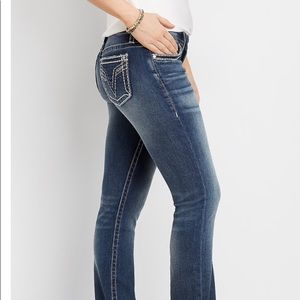 Vigoss thick stitch, slim jean